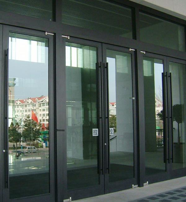 铝合金有框门