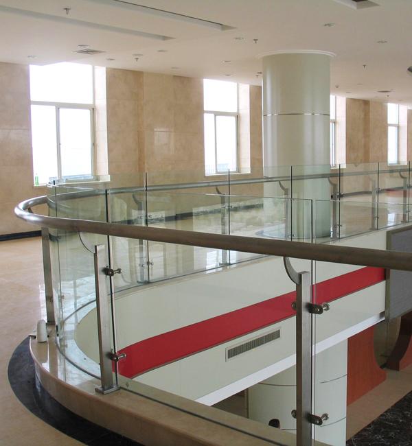 回马廊玻璃护栏