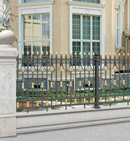 铝合金庭院护栏